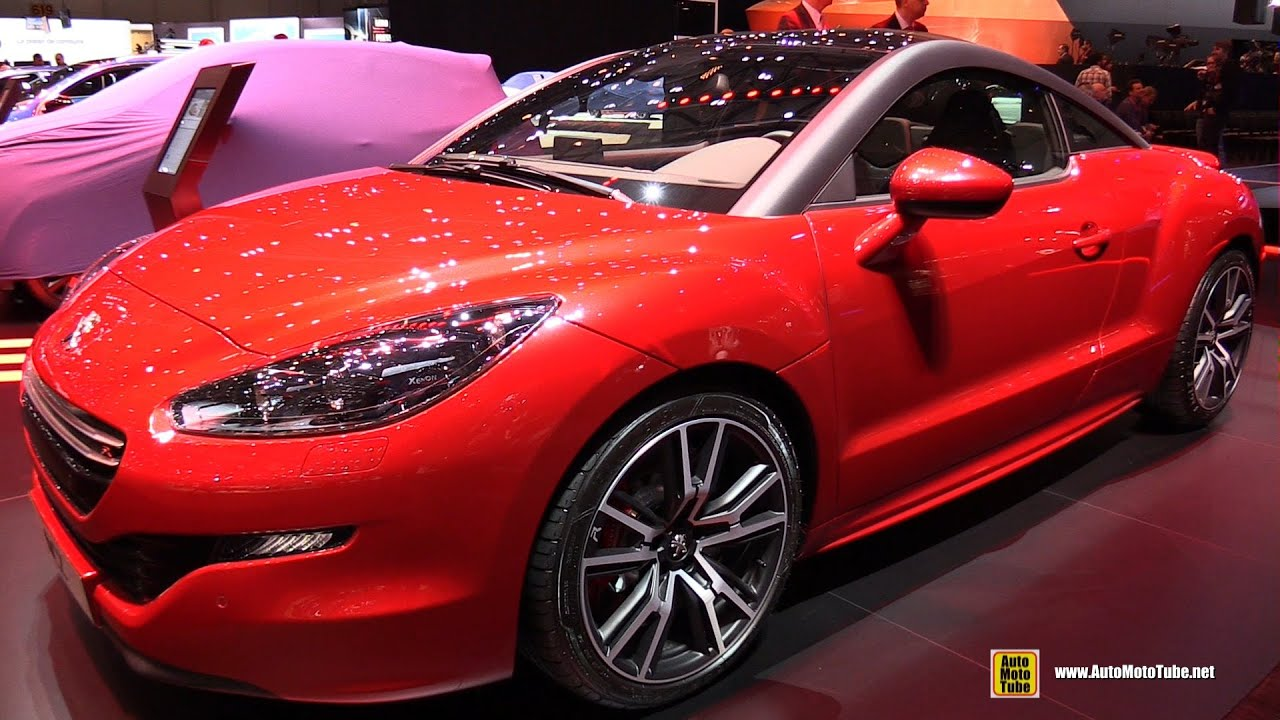 2015 peugeot rcz r exterior and interior walkaround 2015 geneva motor show youtube. Black Bedroom Furniture Sets. Home Design Ideas