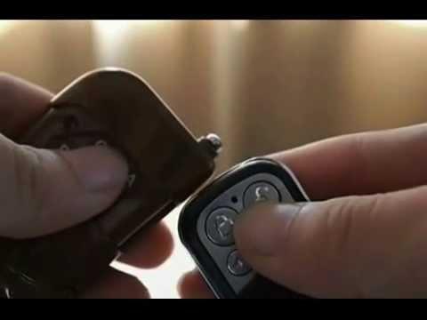 How To Copy A Garage Door Remote Youtube