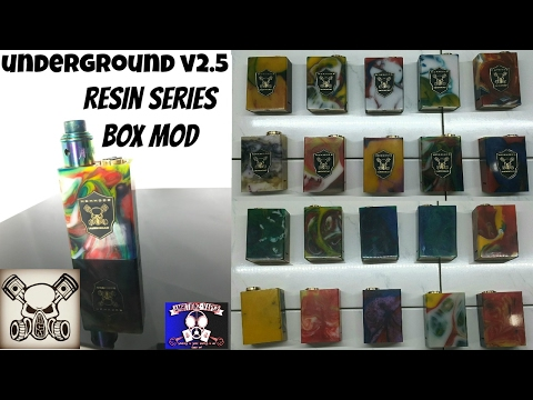 """MCM Mods Underground V2.5 Series """"Resin"""" Box Mod Review (Updated)"""
