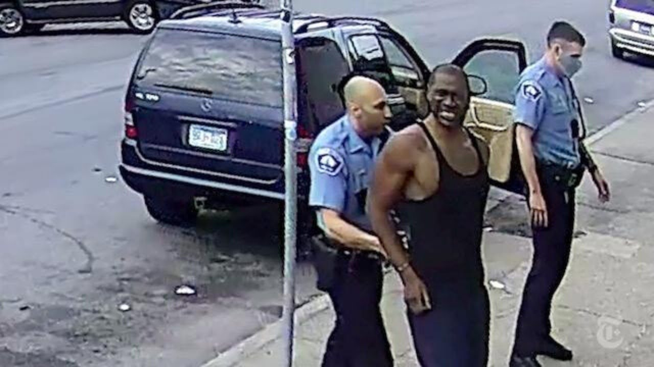 Vídeos REAIS de GEORGE FLOYD e Polícia