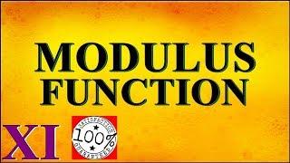 Modulus Function Class 11 Maths NCERT Syllabus 2019 Q11 Video