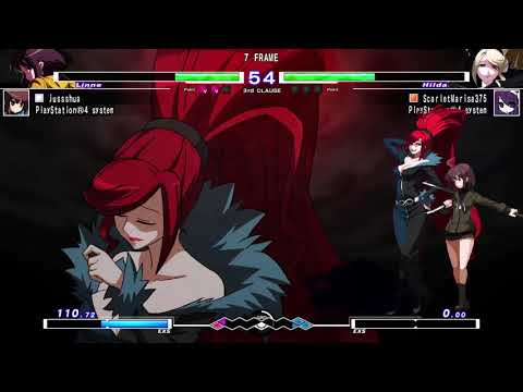 UNDER NIGHT IN-BIRTH Exe:Late[cl-r] - Marisa v jusshua (Match 2) |