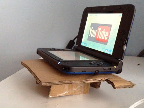 How to make a Nintendo DS Stand (for recording the screen)