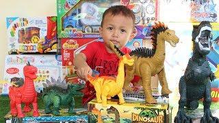 Video Mainan Dinosaurus Lucu, Bisa Berjalan & Bertelur - Koleksi Mainan Dino Untuk Anak download MP3, 3GP, MP4, WEBM, AVI, FLV September 2019