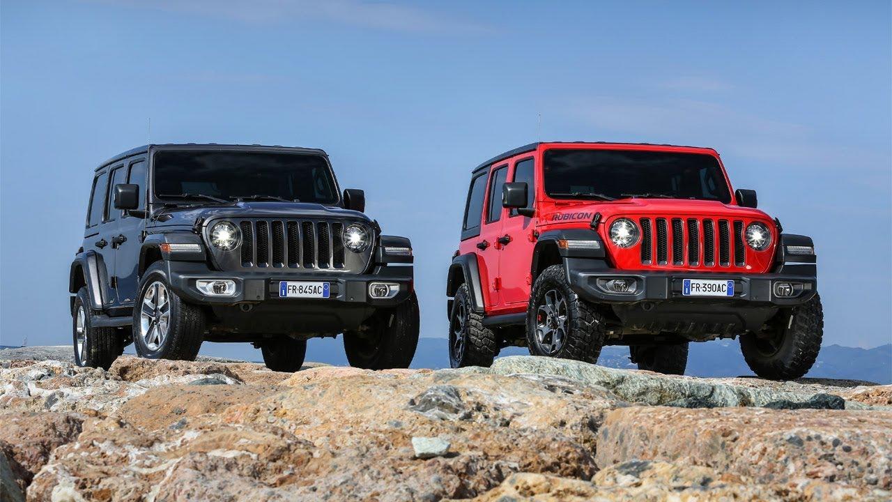 2018 Jeep Wrangler Line Up Europe