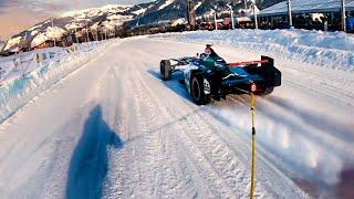 RENNAUTO zieht Profi SKIFAHRER! | GP ICE RACE | Daniel Abt