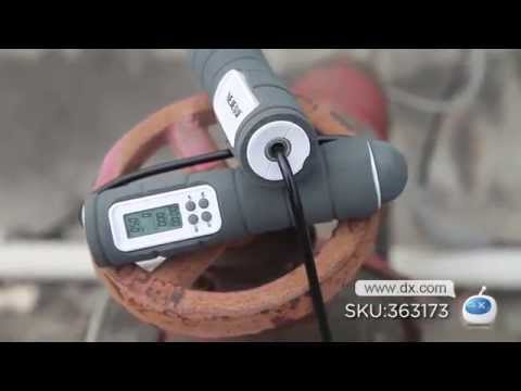 """neje-dg0008-wireless-skipping-rope-w/-2""""-screen-calorie-counter----dx.com"""