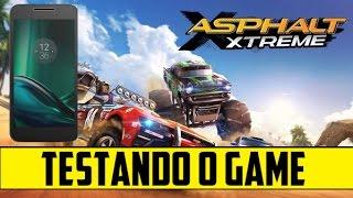 Asphalt Xtreme - Testando o Game Moto G4 Plus