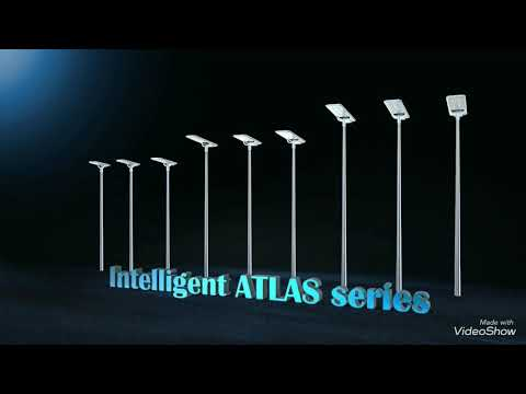 Intelligent all in one solar street light built for Africa