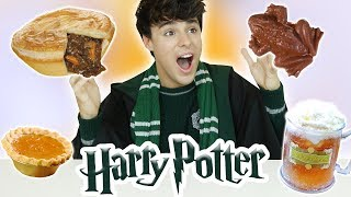 i only ate HARRY POTTER FOODS for 24 hours!!! lmao