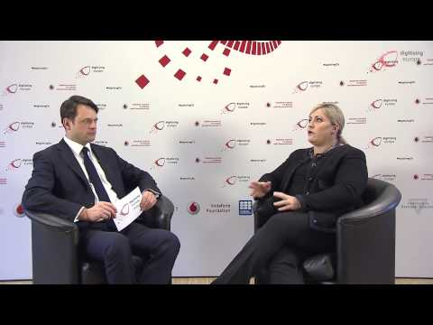 """Interview with Renée James at the """"digitising europe"""" summit"""