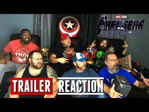 Avengers Endgame Final Trailer Reaction