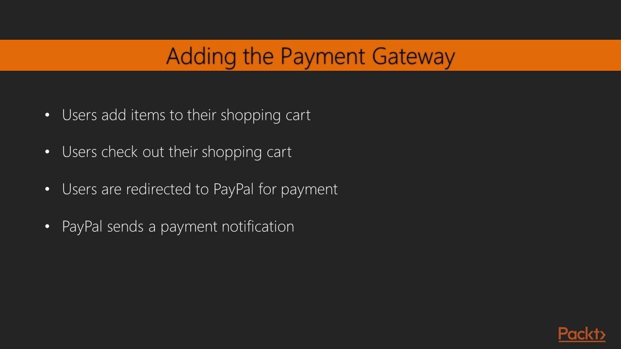 Django by Example : Integrating a Payment Gateway | packtpub com