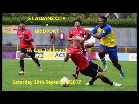 St Albans City 2-1 Bridport.  30 Sep 2017
