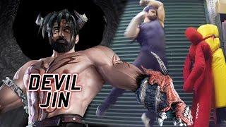 Real Life Tekken - Evil Karate with DEVIL JIN [Eric Jacobus]
