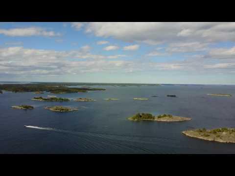 Stockholm archipelago & Sunset - DJI Mavic Pro