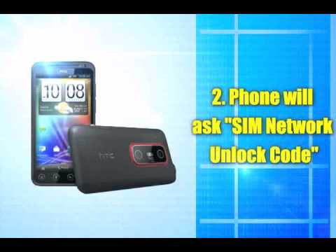 How to Unlock HTC EVO 3D