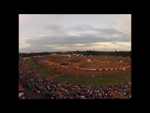 Dixie Speedway Days Chevrolet Monster Truck Fall Nationals Time lapse!