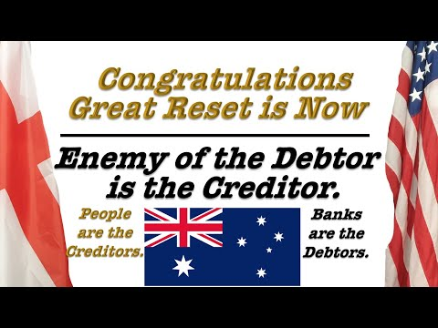 Congratulations - Great Reset is Now. Enemy of the Debtor is the Creditor. Live Broadcast.