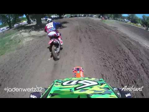 Jaden Wertz at Riverside Raceway 06/24/17