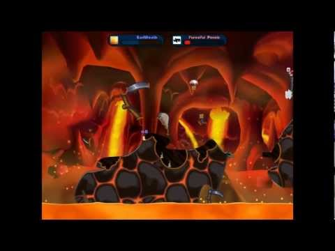 Worms: Reloaded game no.2 w/TheWeatherMan ft. F.P |