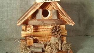 Awesome Rustic Birdhouse For Sale Bills Bird Feeders, Ny