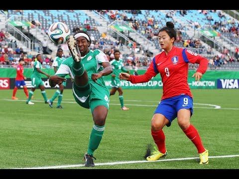 Korea Republic V. Nigeria, Canada 2014 HIGHLIGHTS