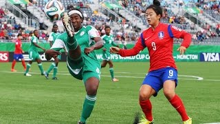 Korea Republic v. Nigeria, Canada 2014 HIGHLIGHTS