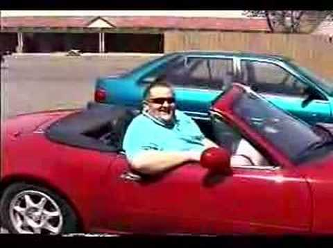 Big Guy + Little Car U003d Hysterics