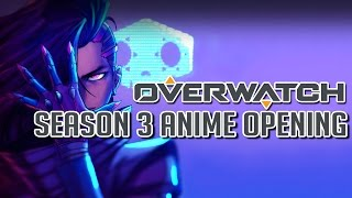 【MAD】Overwatch Season 3 Anime - Opening「Rise of Sombra」Fanart Edition | Mrs.GREEN APPLE - ナニヲナニヲ