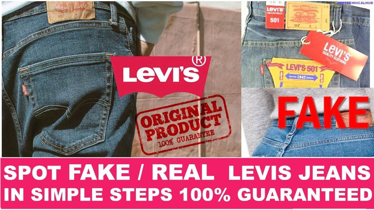 Levi S Jeans Real Vs Fake 2021 Spot Fake Levi S Jeans Immediately Imktechnicalhub Youtube