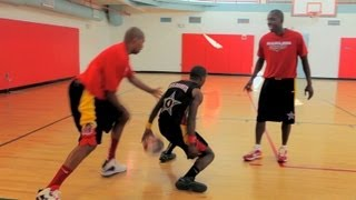 How to Spin Back Dribble   Basketball