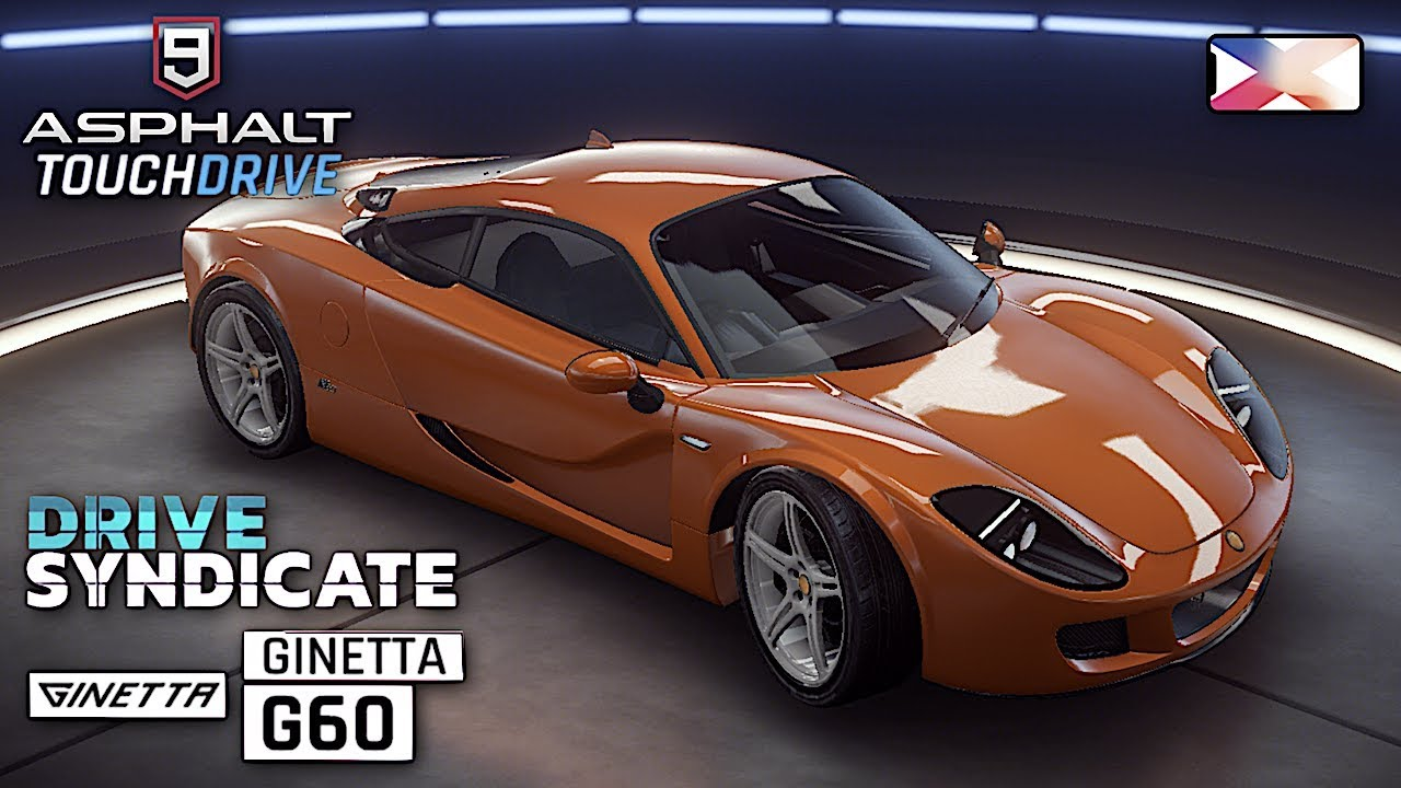 ASPHALT 9: LEGENDS - Ginetta G60 Unlocked - Drive Syndicate Gameplay