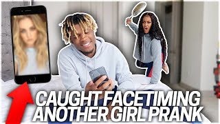 CAUGHT ON FACETIME WITH ANOTHER GIRL PRANK ON GIRLFRIEND!!!