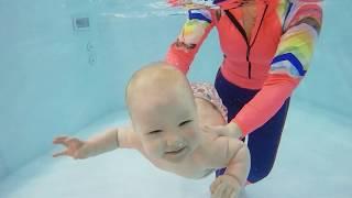 Грудничковое плавание в Москве | Китенок Люберцы Колхозная #01