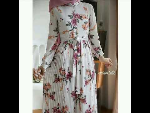 فساتين-محجبات-للصيف-👌-2019-|-robe-hijab-2019