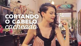 Corte de cabelo cacheado, curto, e ASSIMÉTRICO! | Flamingos Garden Hair - Guid