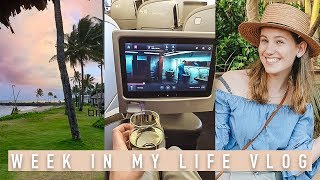 Almost Missed My First Class Flight to Fiji 😱✈️ Week In My Life Vlog