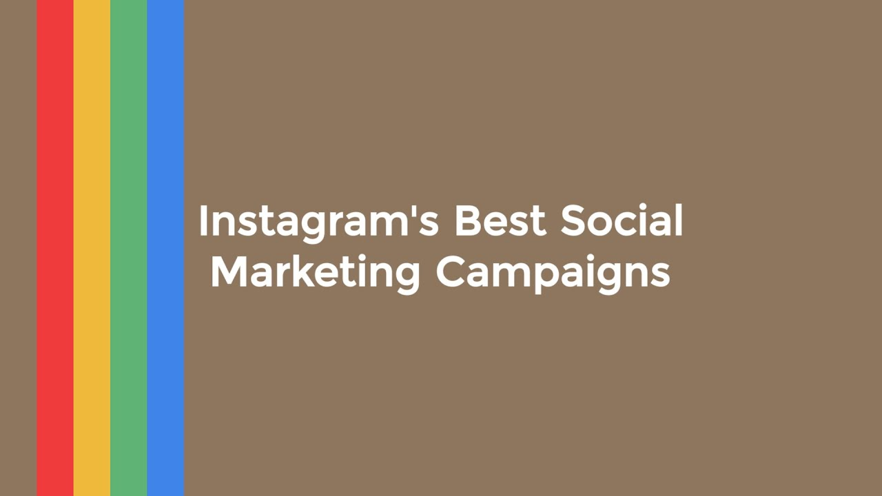 Instagram S Most Creative Marketing Campaigns Of 2015