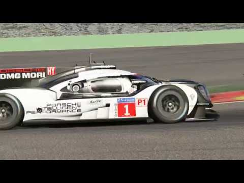 Assetto Corsa - LMP1/GT Race at Spa