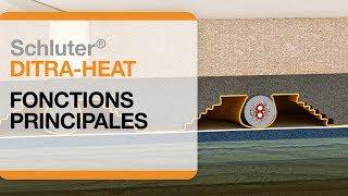 Les principales fonctions d'un plancher chauffant électrique : Schluter®-DITRA-HEAT