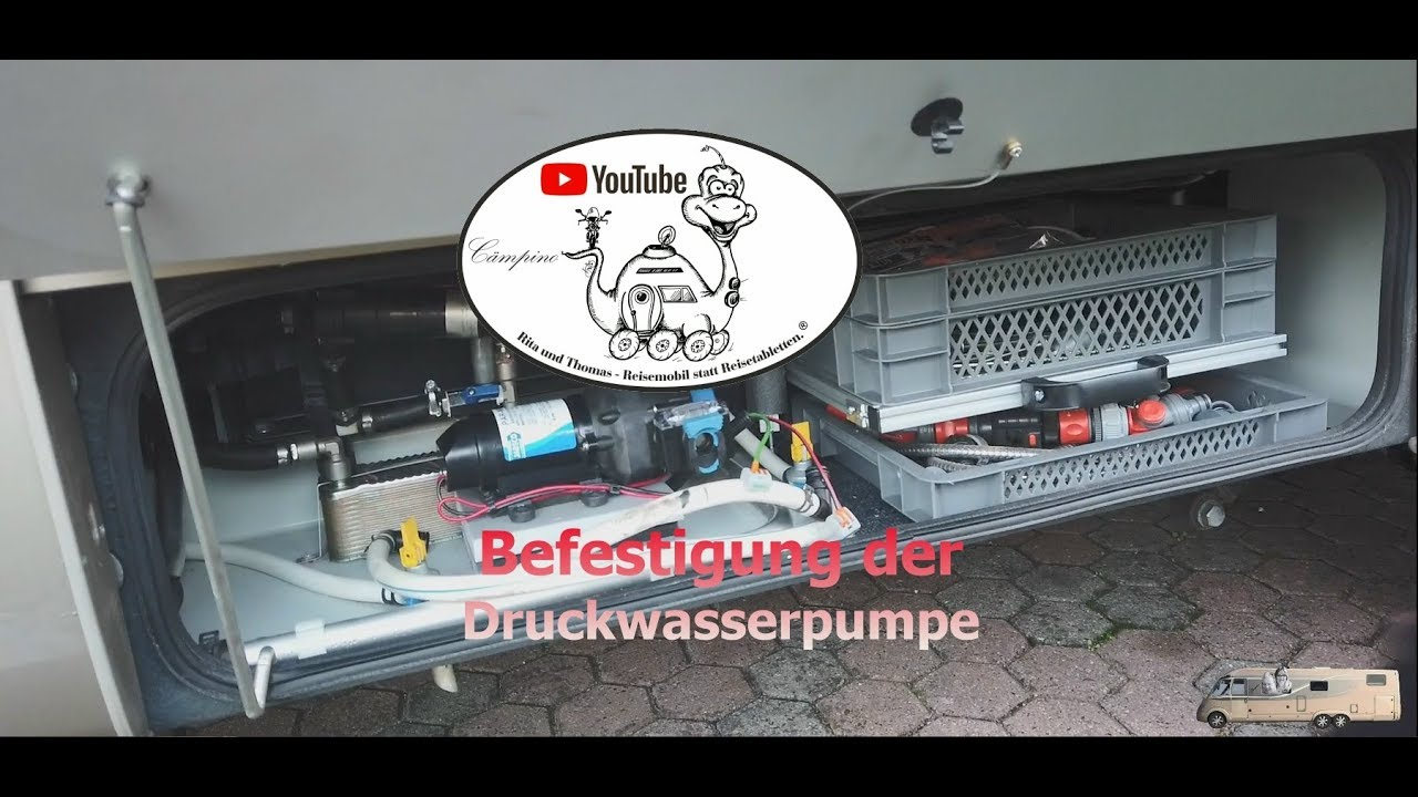 Druckwasserpumpe Wohnmobil Test