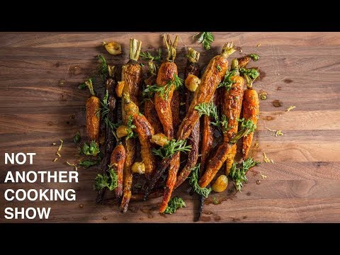how to make CARAMELIZED OVEN ROASTED CARROTS