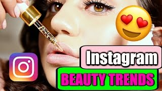 GEHYPTE INSTAGRAM BEAUTY TRENDS
