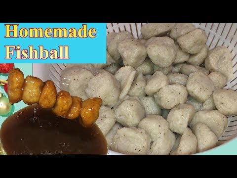 Homemade Fishball Recipe | How To Make Fishballs | Pinoy Style | Lutong Pinoy