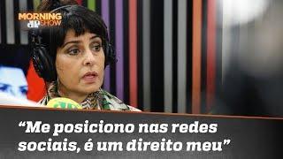 """""""Eu me posiciono na minha rede social, é um direito meu"""", diz Fernanda Abreu"""