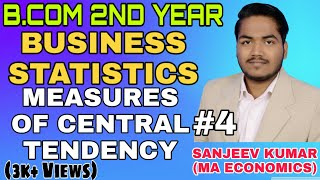 B.Com 2nd Year Business Statistics | How to Calculate Harmonic mean | measure of central tendency