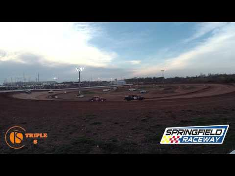 Heat Race Pure Stock Springfield Raceway Don Haase 4-1-2017