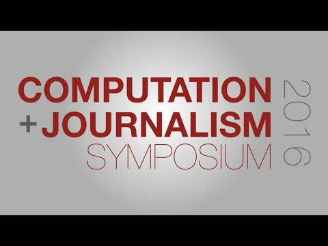 C+J 2016: New York Times' Sarah Cohen on Investigative Reporting in the Age of Data Science