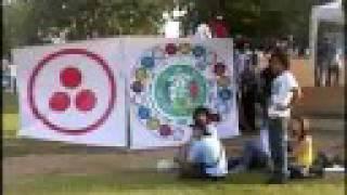 """DIA VERDE, DIA FUERA DEL TIEMPO Barranquilla 2008 """"the earth tribe"""""""